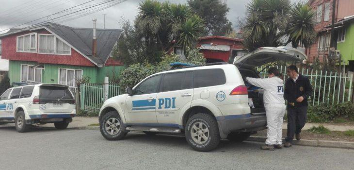 PDI indaga robo con posterior violación de anciana en Castro.
