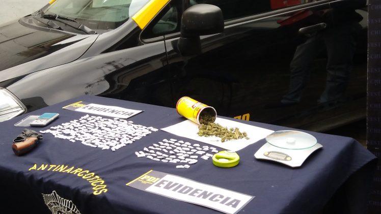 Detenidos por tráfico de droga en Talca.