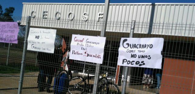 Ministra de salud inaugura Cecof pese a oposición de los vecinos