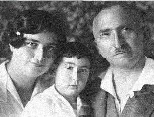 Josef Fritzl y sus padres