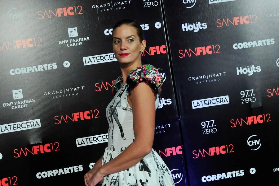 Javiera Acevedo en Gala Sanfic12