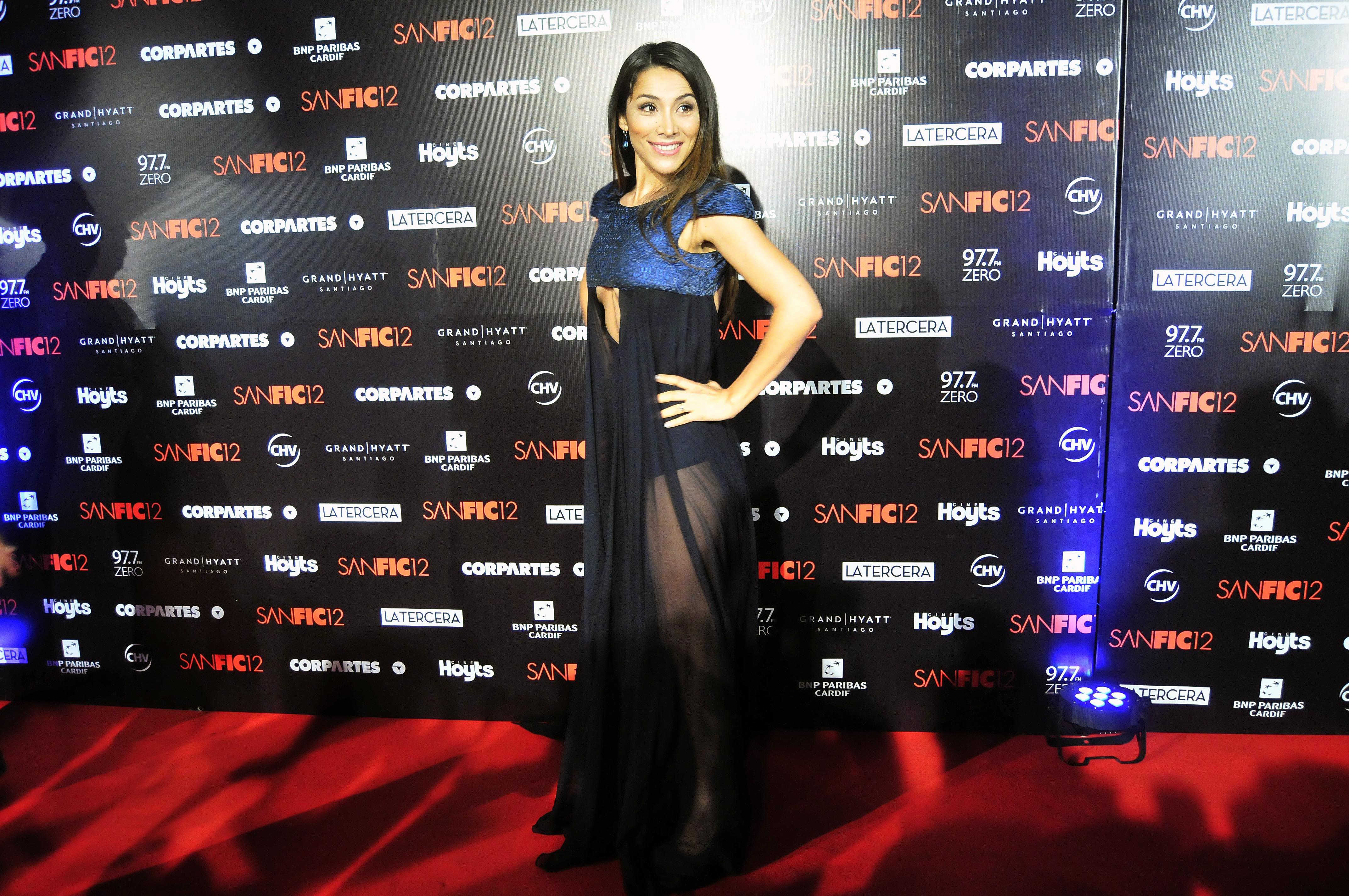 Loreto Aravena se robó la atención en gala Sanfic
