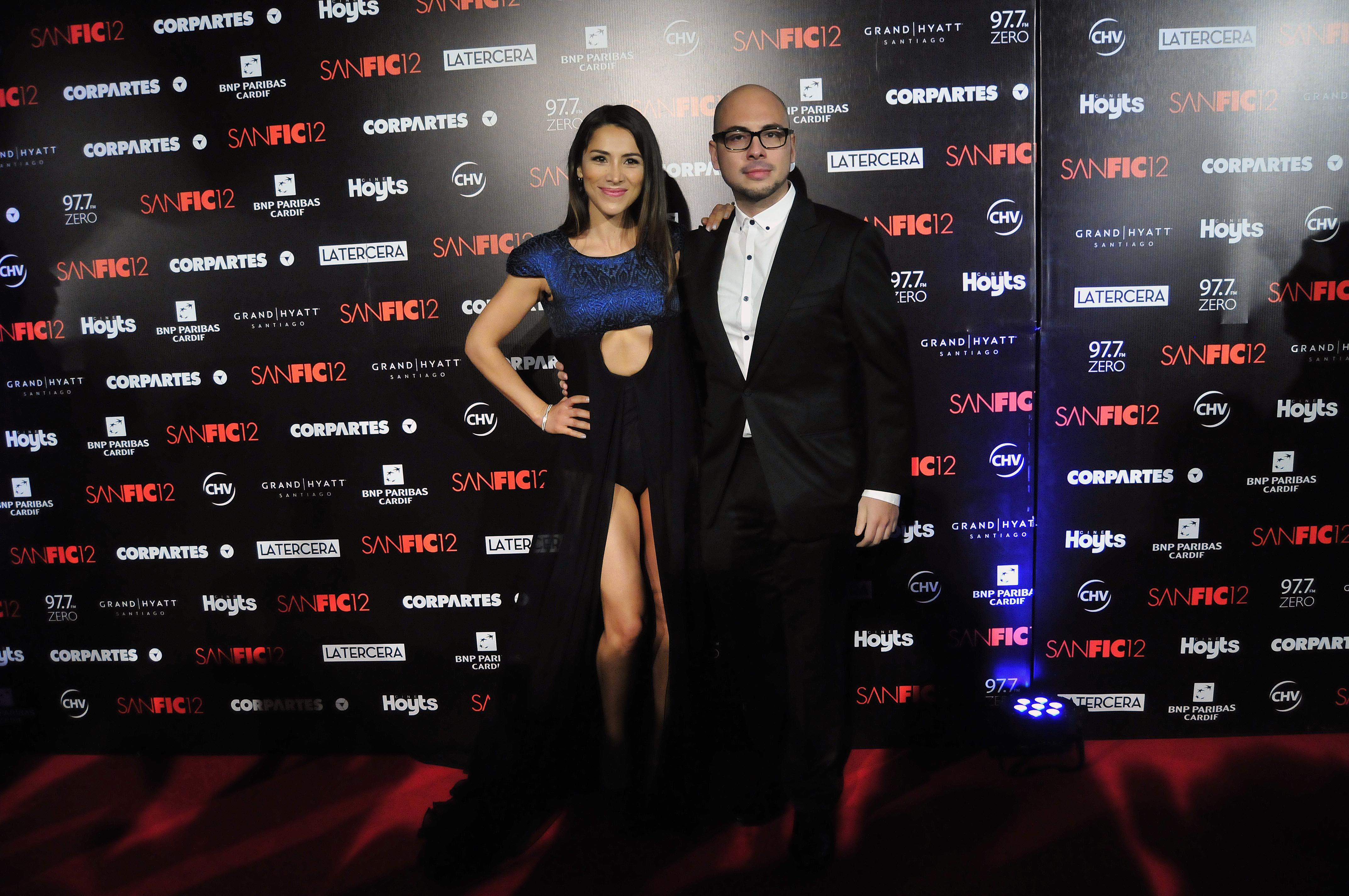 Loreto Aravena se robó todas las miradas en gala Sanfic