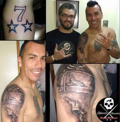 Roberto González tatuajes | La Cuarta