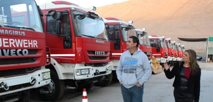 Bomberos de Tarapacá tendrán los Carros de Rescate más modernos de Chile