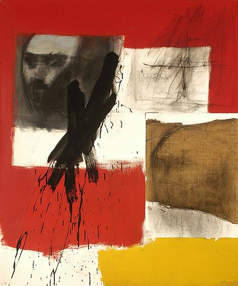 José Balmes - Proyecto para un retrato, 1967. Col. MNBA