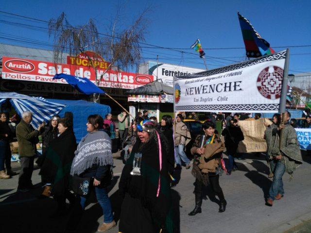 Marcha de comunidades en Los Ángeles