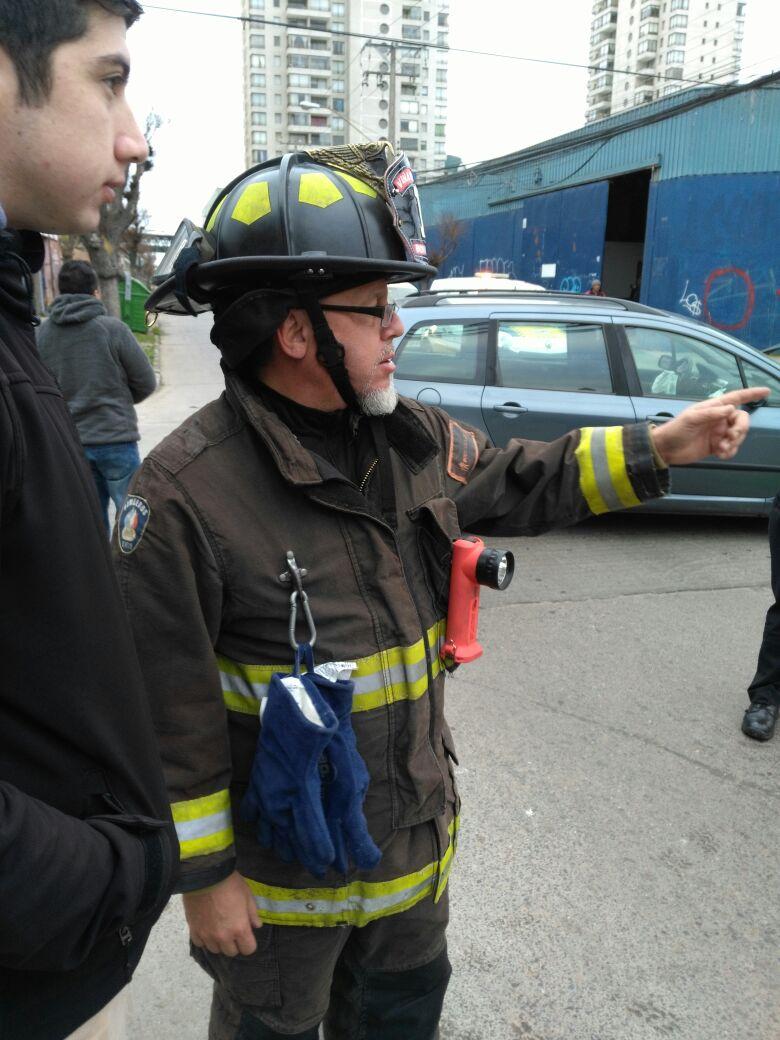 Ricardo Lagos Weber bombero Viña del Mar