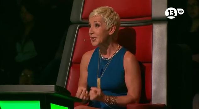 Ana Torroja corrige a Álvaro López en pantalla tras nuevo error en The Voice