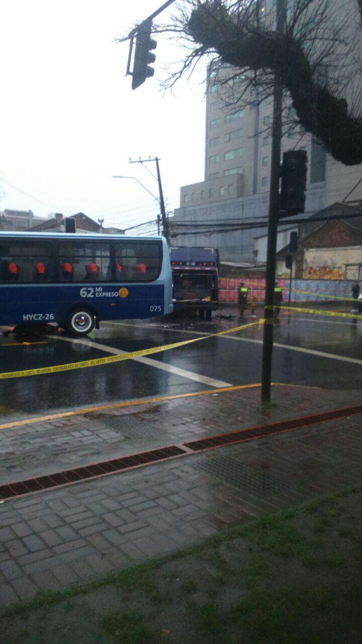 Un muerto tras accidente de tránsito en Concepción