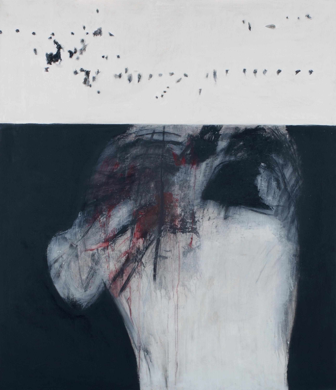 Vietnam herido. José Balmes, 1968. Pintura