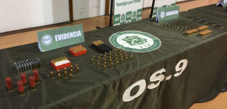 Incautan armamento en casa de un médico cirujano en Peñalolén.