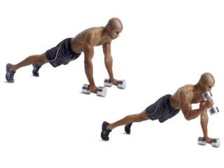 Ejercicio bíceps en posición de flexión