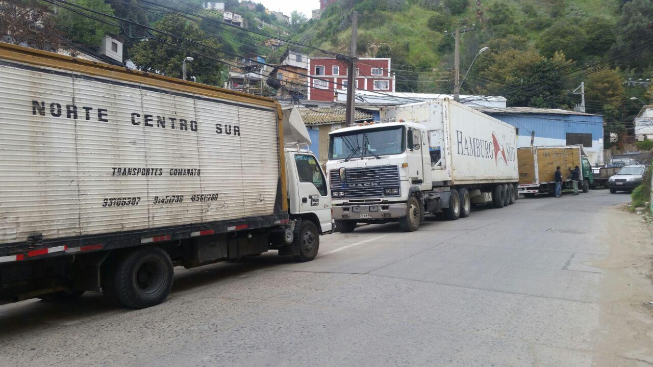 Decomiso de jibia en Quintero y Valparaíso