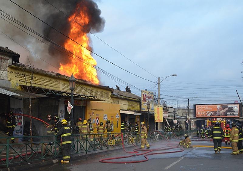 Incendio de Talca
