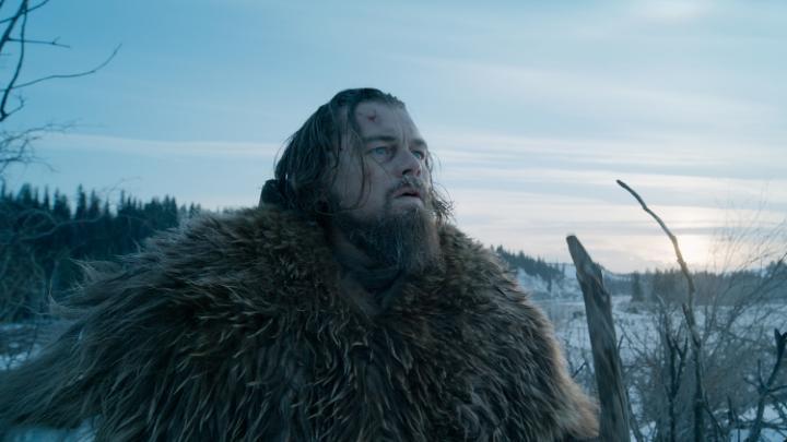 Leonardo DiCaprio en El Renacido (2016)