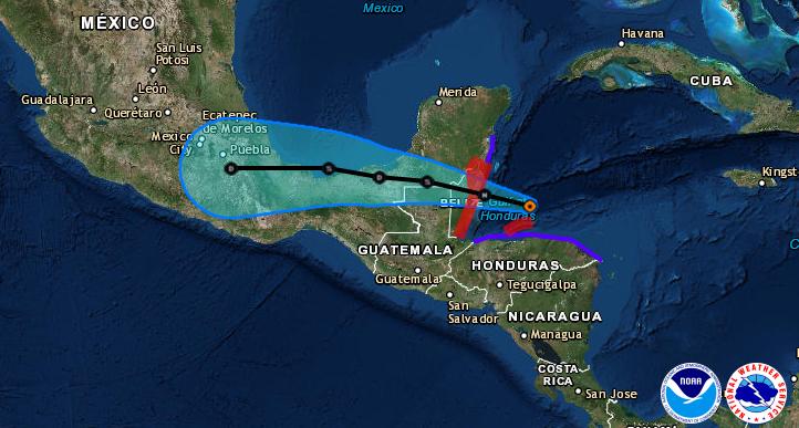 Huracán Eearl | NOAA