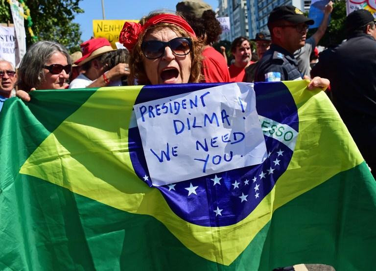 Dilma Rousseff está solo a dos pasos de su destitución