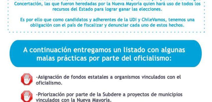 Manual UDI para evitar intervencionismo electoral