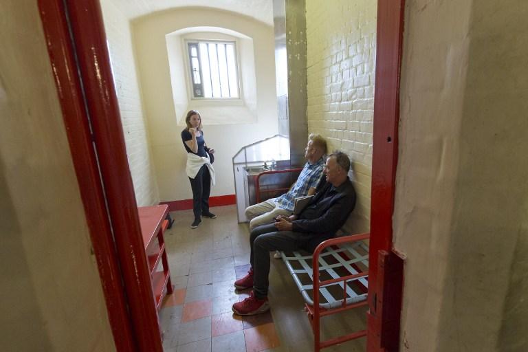 La celda de Oscar Wilde, donde vivió dos años.