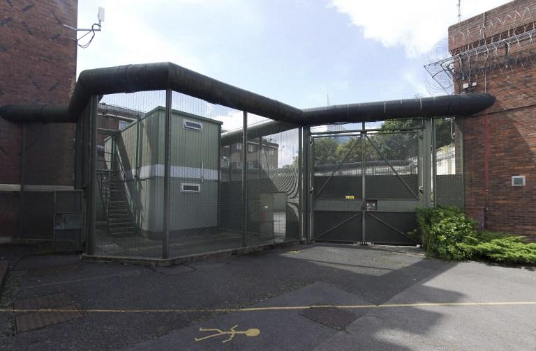 La cárcel en la que estuvo prisionero Oscar Wilde vista desde afuera