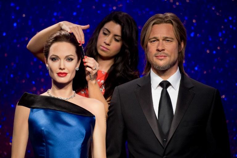 Así posaban Jolie y Pitt en el museo antes de la separación | León Neal | Agencia AFP