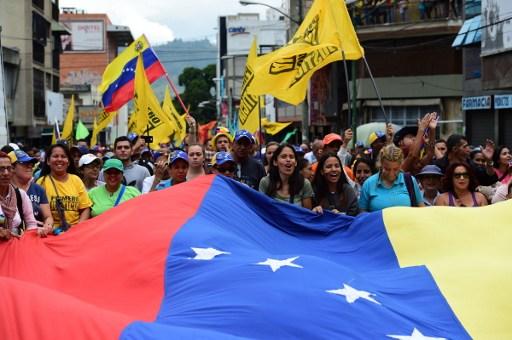 VENEZUELA-OPPOSITION-RALLY
