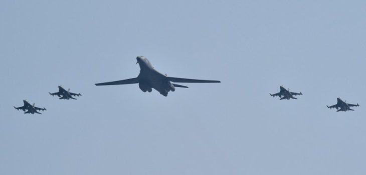 Bombardero B-1B de EEUU sobrevuela Corea del Sur