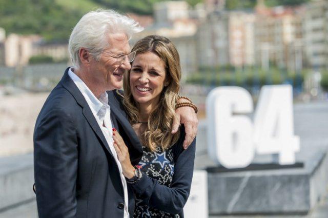Richard Gere y Alejandra Silva | AFP