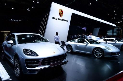 Stand de Porsche | AFP