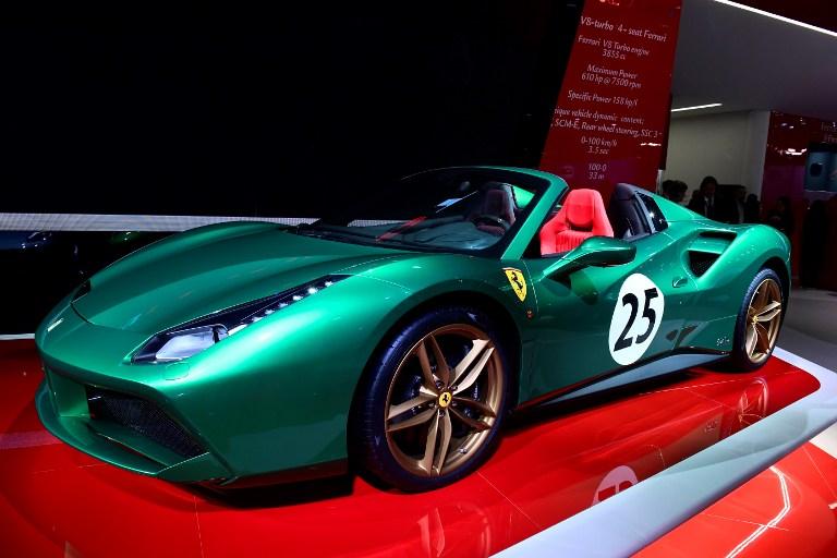 488 Spider Ferrari | AFP