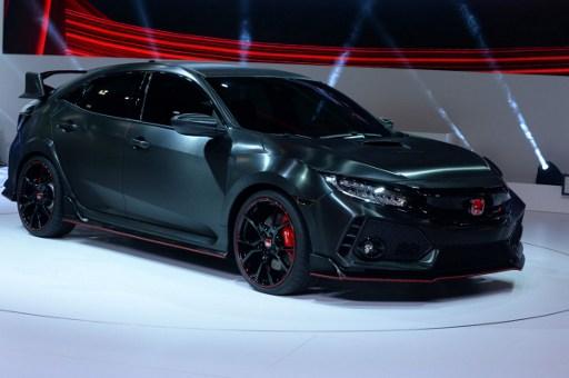 Honda Civic Type R | AFP