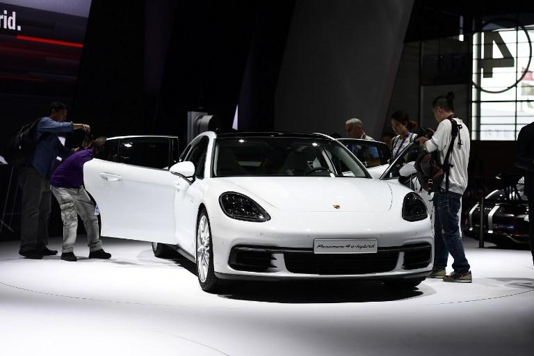 Porsche Panamera 4 E Hybrid | AFP