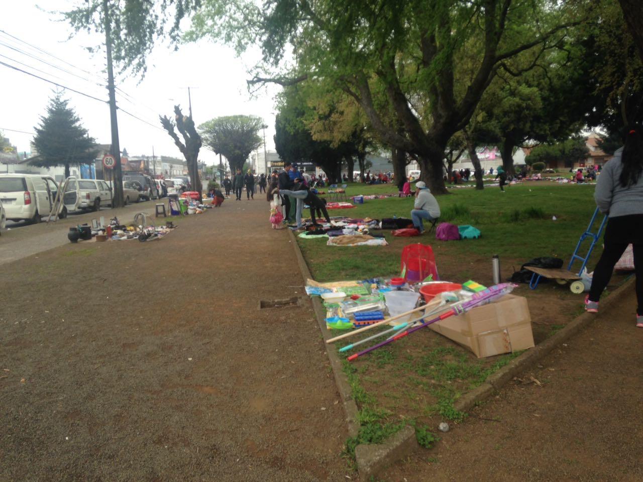 Regulan comercio ambulante en plaza Dreves de Temuco