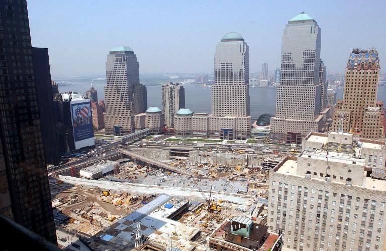 New York tras el ataque del 11 de septiembre de 2001