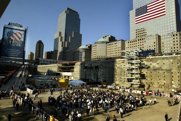 Homenaje 11 de septiembre 2001