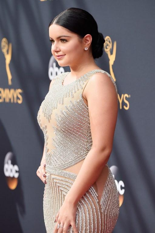 Ariel Winter llega a los Emmy Awards