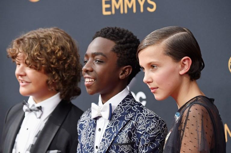 Niños de Stranger Things en Emmys
