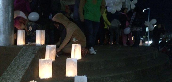 Puerto Montt: Animalistas realizaron masiva velatón por activista que murió atropellado por carabinero ebrio