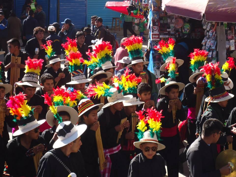 Último convite previo al Carnaval de Oruro de 2015 | Camilo Suazo