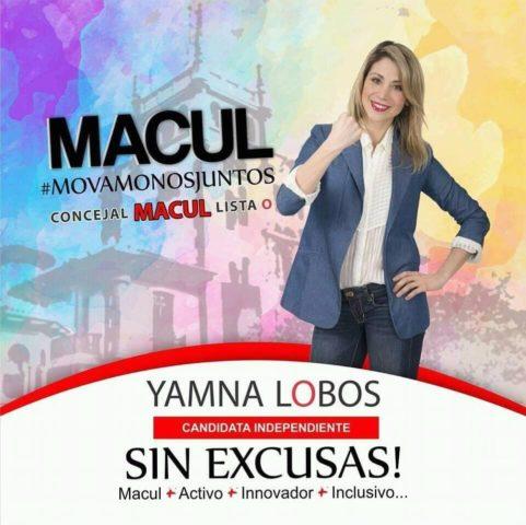 Yamna Lobos | Facebook