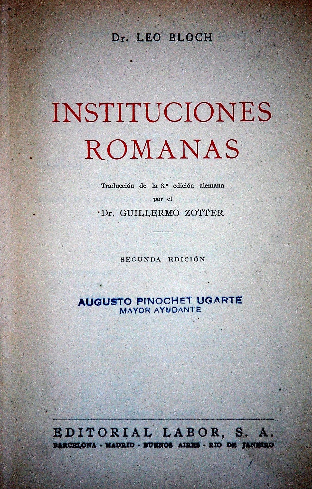 Libros de la librería de Luis Rivano