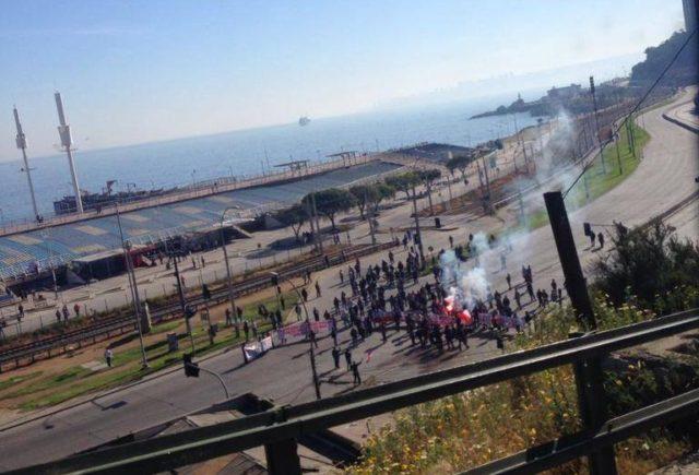 Pescadores artesanales realizan manifestación en Valparaíso