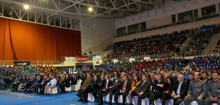 En el Arena Puerto Montt la Ministra del Deporte encabezó la inauguración oficial de la Gran Final Nacional de los Juegos Deportivos Escolares