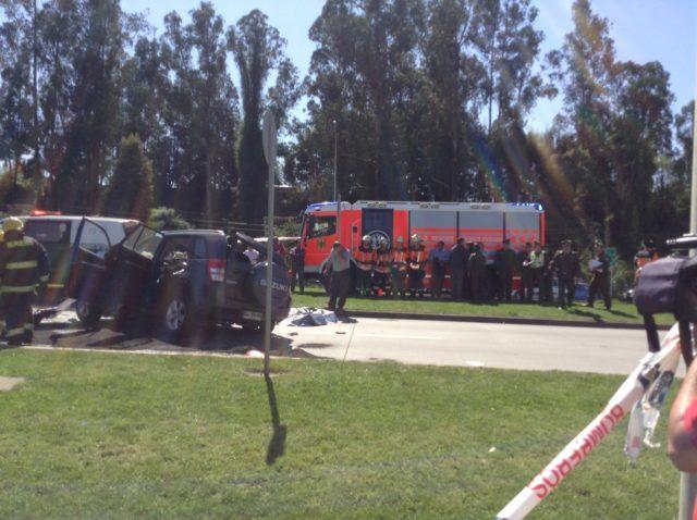 Una menor y su abuela mueren en accidente de Temuco