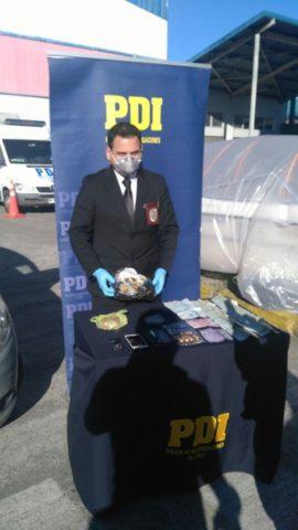 PDI detiene en Puerto Montt a dos mujeres con un kilo de Marihuana