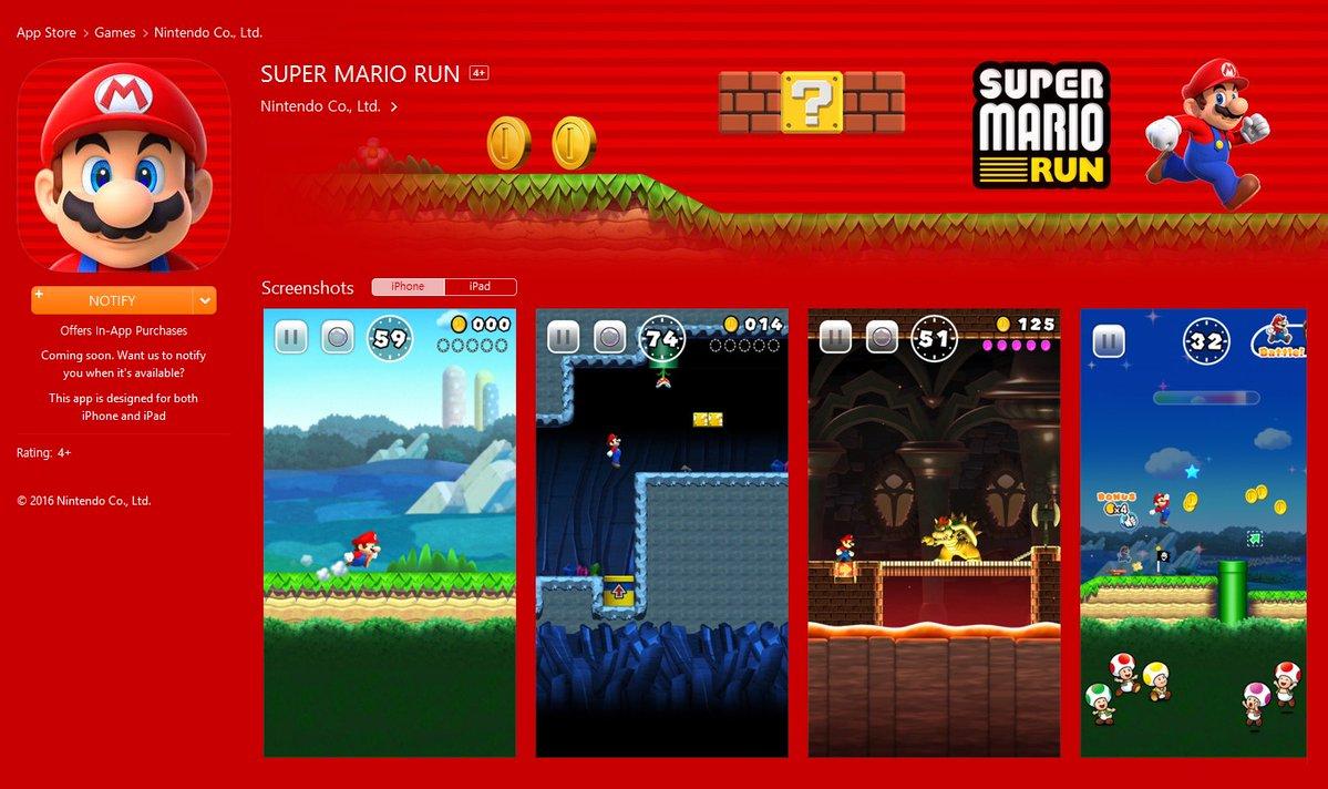 Super Mario llega a iOS