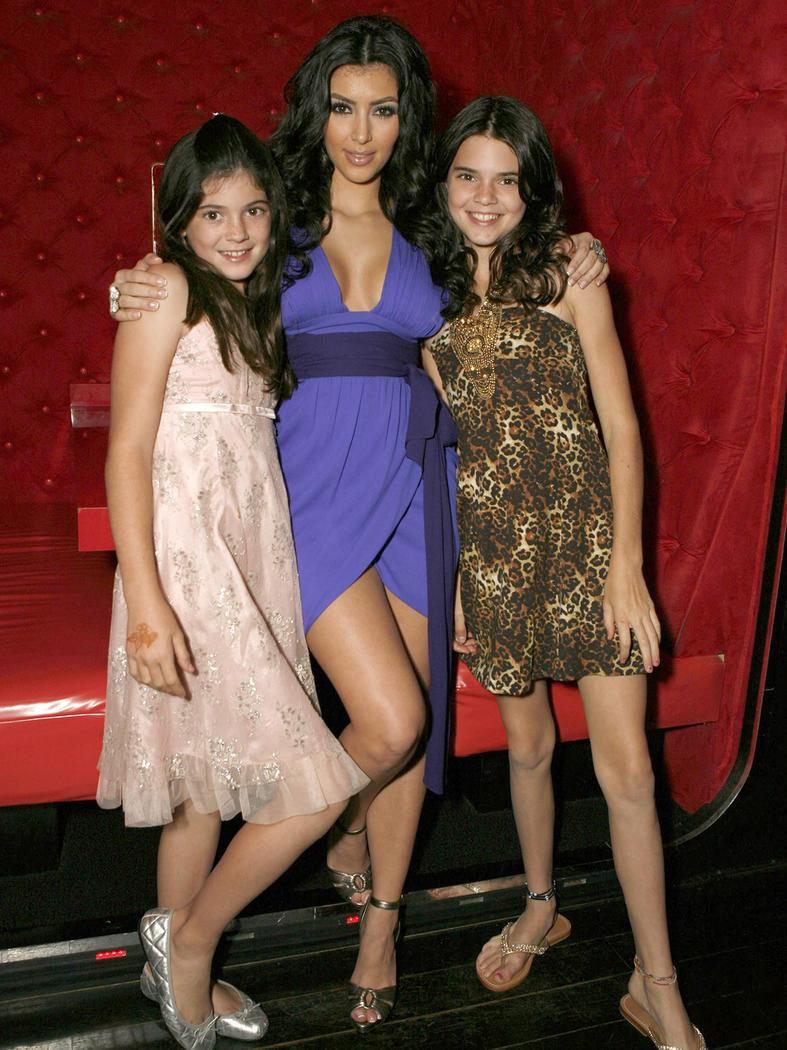 Kylie, Kim y Kendall en 2007