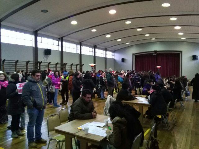 Comienzan matrículas en colegio de Osorno