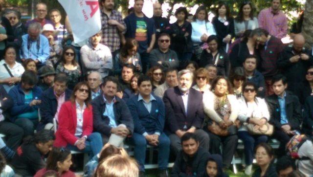 A pesar de las críticas por intervencionismo: 5 ministros en lanzamiento de campaña de Tohá